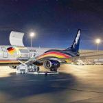 Сертифицирован конвертированный грузовой самолет Boeing 737-800BCF